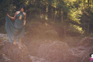dark hair pornstar model suicide girls barefoot women tattoo trees women outdoors radeo suicide outdoors