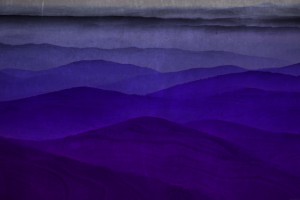 dark minimalism watercolor mountains