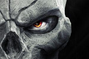 darksiders 2 dark siders eyes skull selective coloring anime darksiders video games death