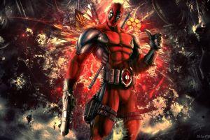deadpool marvel comics gun