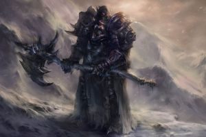 death knight world of warcraft video games