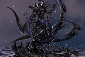 demon necromancers artwork fantasy art dark fantasy
