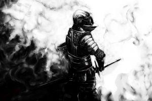 demon's souls video games dark knight
