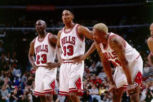 dennis rodman chicago nba sports basketball chicago bulls michael jordan