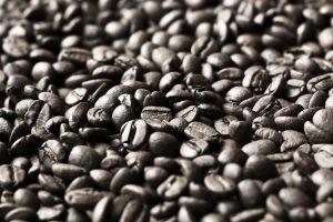depth of field macro coffee beans food