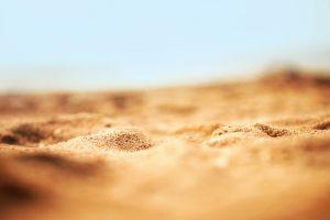 desert depth of field sand