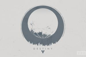 destiny (video game) video games simple background