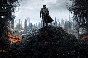 destruction star trek khan star trek into darkness london benedict cumberbatch