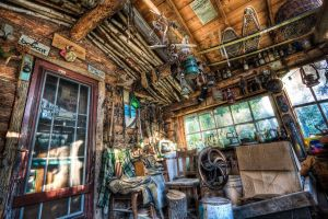 detailed interior hdr