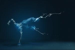 digital art artwork dancer men