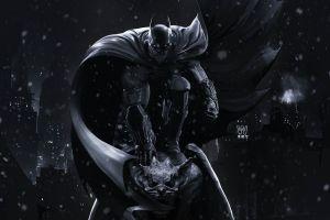 digital art dark gotham city night batman artwork dc comics the dark knight