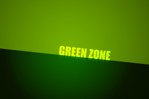 digital art green typography
