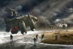 digital art marek okon science fiction