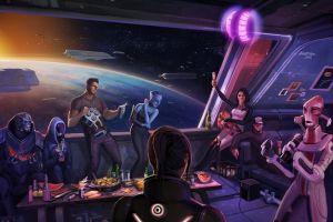 digital art mass effect 3 mass effect video games