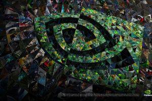 digital art mosaic nvidia