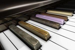 digital art piano musical instrument