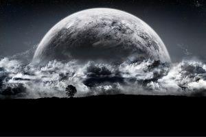digital art planet space