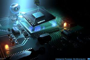 digital art processor cpu robot lights computer internet leds overclocking render