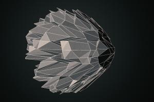 digital art render simple background cinema 4d