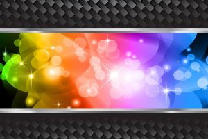 digital art shapes colorful