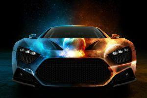 digital art space art car vehicle