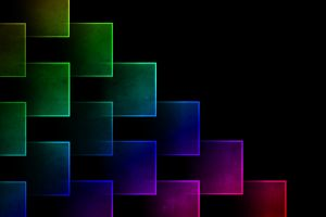 digital art square pattern colorful