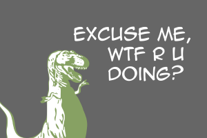 dinosaurs humor simple background artwork