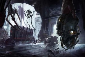 dishonored artwork video games
