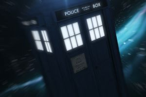 doctor who science fiction digital art space police boxes