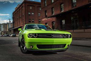 dodge green cars urban dodge challenger vehicle