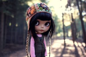 doll outdoors puppets