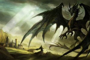 dragon digital art fantasy art