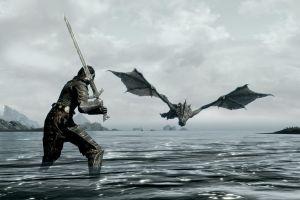 dragon video games the elder scrolls v: skyrim