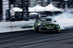 drift ford mustang monster energy