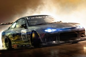 drift s15 nissan race driver: grid