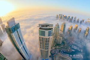dubai clouds architecture