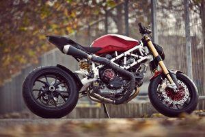 ducati monster ducati vehicle motorcycle