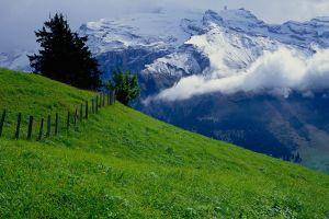 earth landscape mountains