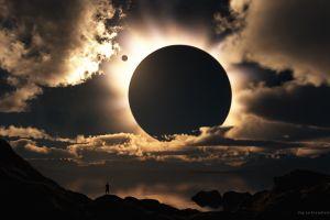 eclipse  sky sunlight