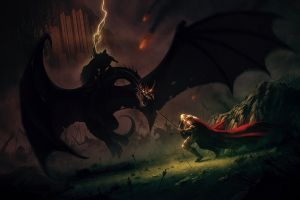éowyn battle artwork the lord of the rings witchking of angmar