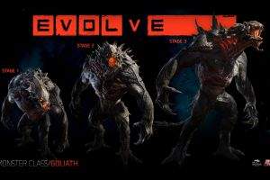 evolve video games creature