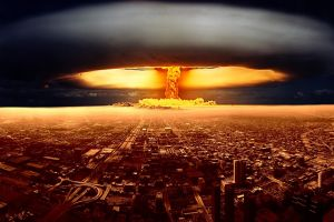 explosion atomic bomb apocalyptic nuclear