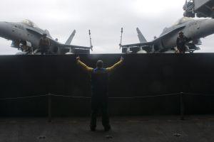 f/a-18 hornet jets ship aircraft carrier aircraft