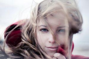 face blonde model women