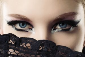 face eyes blue eyes blonde makeup women