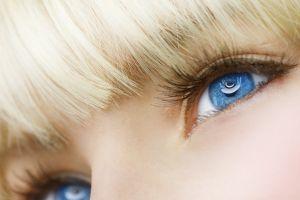 face eyes blue eyes blonde women