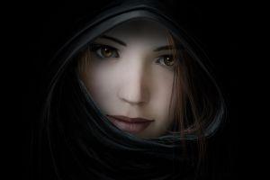face fantasy girl fantasy art