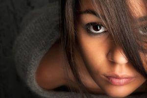face model eyes women