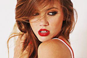 face model women redhead