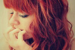face redhead women model